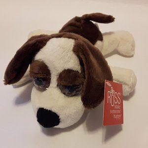 RUSS Lil Peepers Dixie Hound Dog Plush NWT